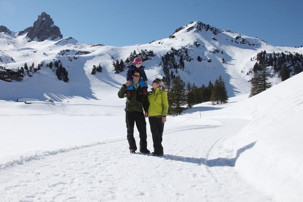 Winterwandern am Flumserberg - © Bergbahnen Flumserberg