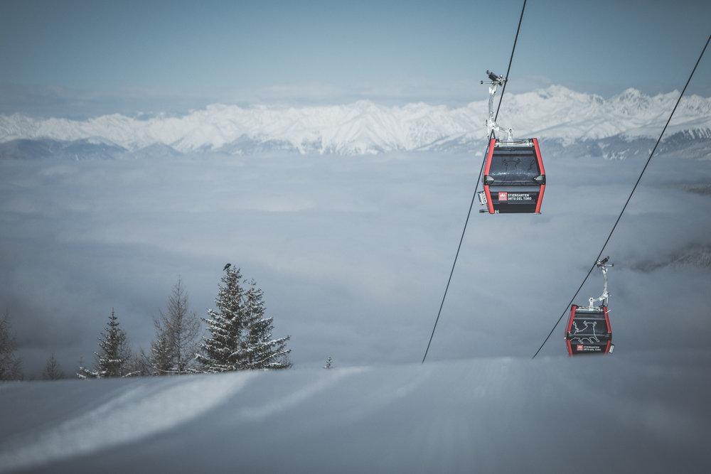 Gondeln im Skigebiet 3 Zinnen - © 3 Zinnen Dolomites | Kottersteger