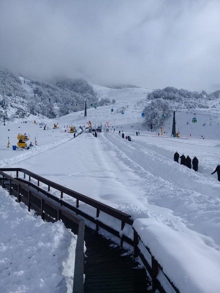 Schneefall in Cerro Catedral - © Facebook Cerro Catedral
