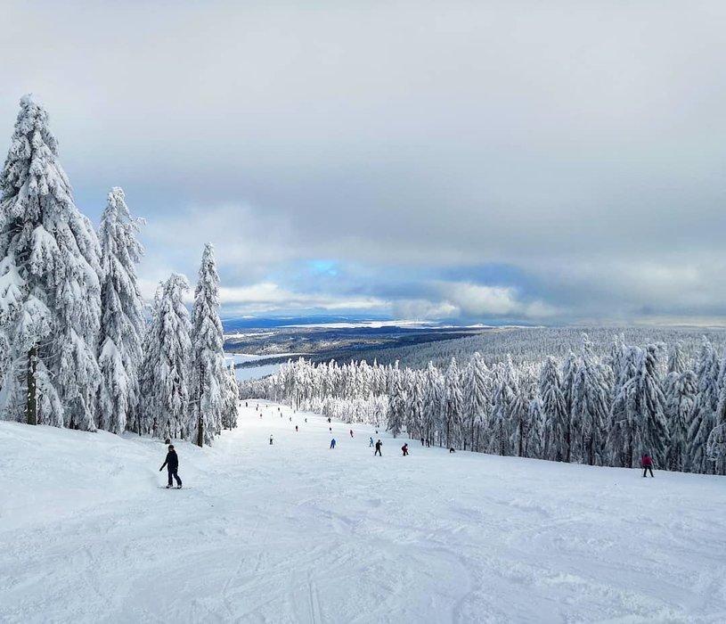 Skiareál Klínovec 4.2.2019 - © Skiareál Klínovec facebook