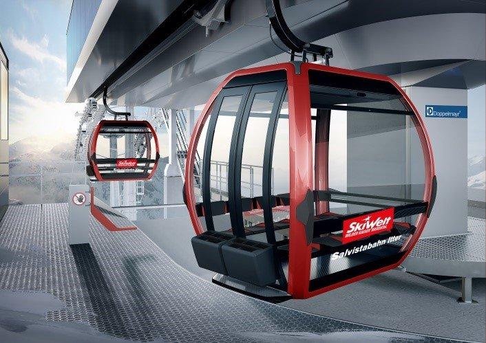 Nowa Salvistabahn - © SkiWelt Wilder Kaiser-Brixental