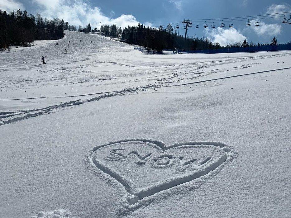 Marcový sneh v Snowparadise Veľká Rača Oščadnica - © Snowparadise Veľká Rača Oščadnica