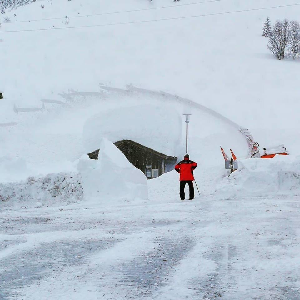 Schneemassen in Stuben am Arlberg im Januar 2019 - © Tourismusbüro Stuben am Arlberg