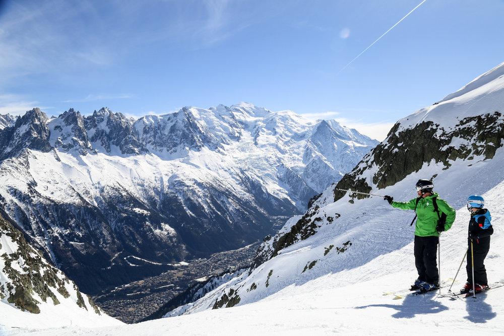 Chamonix est aussi une destination et des domaines skiables à découvrir en famille - © Office de Tourisme Vallée de Chamonix - Salome Abrial