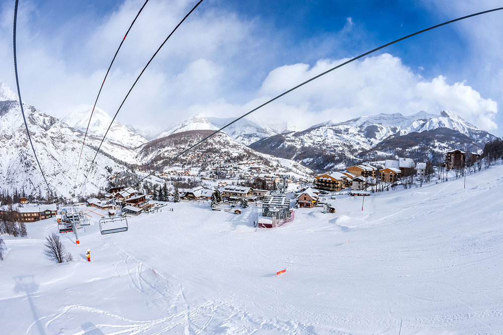 Val d'Allos : un village et deux stations ! - © R. Palomba / Office de Tourisme du Val d'Allos