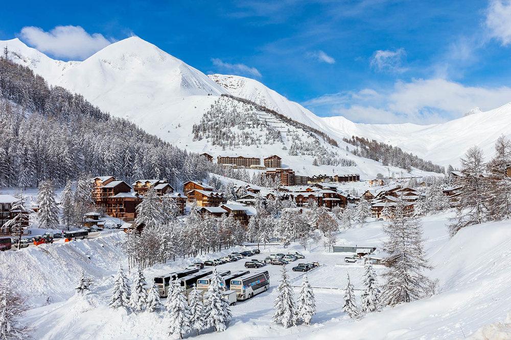 Ambiance hivernale après une belle chute de neige dans le Val d'Allos - © R. Palomba / Office de Tourisme du Val d'Allos