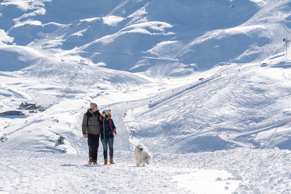 Un séjour à Val Thorens, c'est aussi l'occasion de se ressourcer et de profiter pleinement de la montagne, loin de l'agitation des skieurs. - © T. Loubere / OT Val Thorens