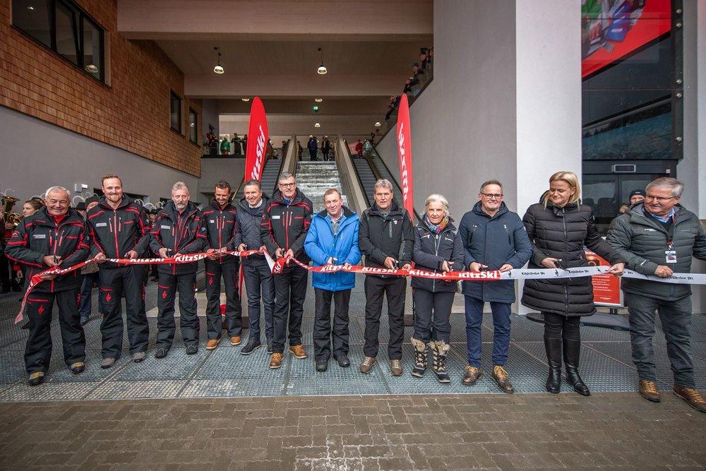 Feierliche Eröffnung der Fleckalmbahn am 14.12.2019 - © Bergbahn AG Kitzbühel | Michael Werlberg