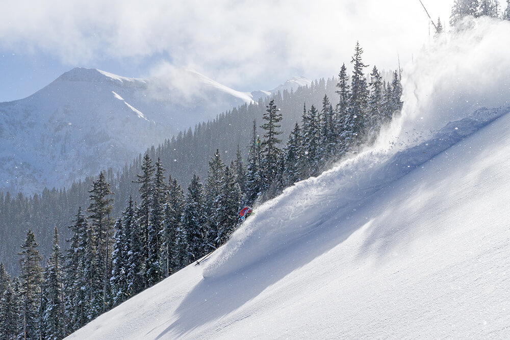 Epic powder runs await in Telluride. - © Visit Telluride/Ryan Bonneau