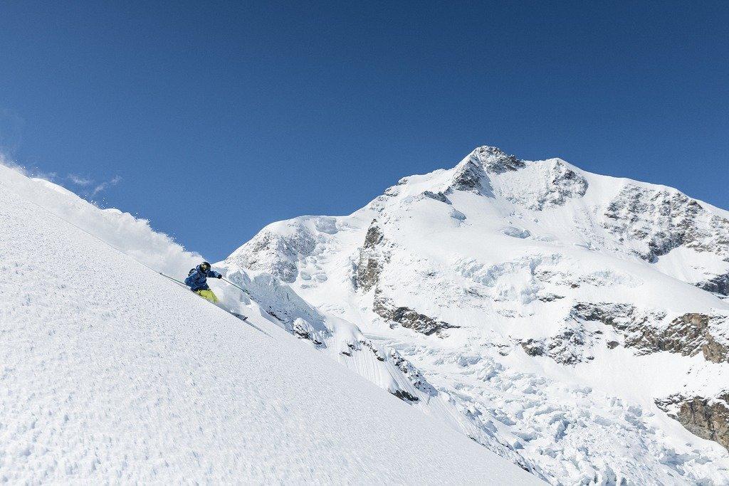 Freeriden im Engadin - © Engadin St. Moritz Tourismus | Filip Zuan