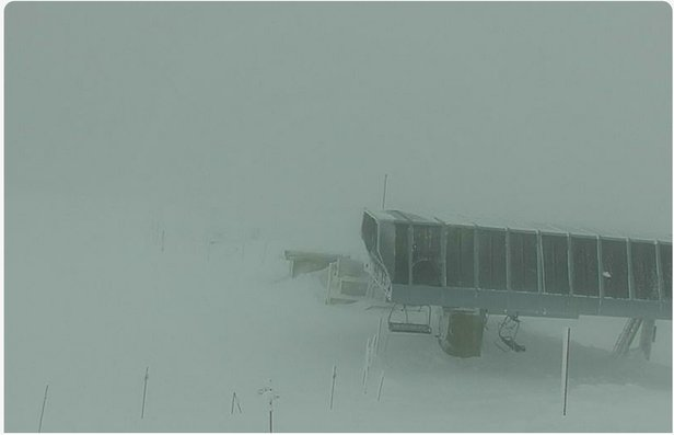 Whistler Blackcomb - So much fog this week. Only one day where we could see and ski the very top. Sad. - © Phyllis OGRADY