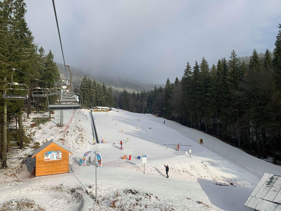 Skicentrum Říčky v Orlických horách 4.3.2020 - © facebook | Skicentrum Říčky v Orlických horách