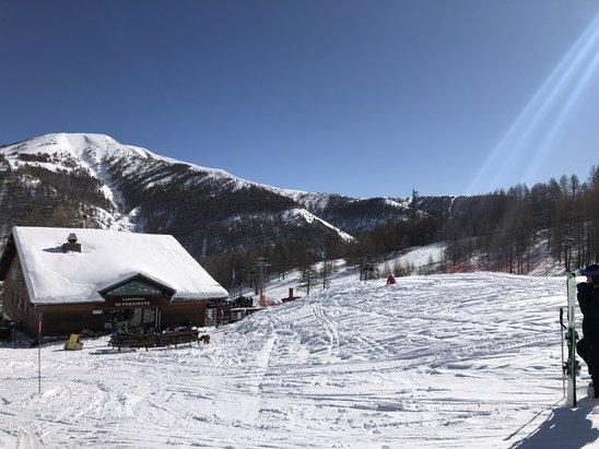 Val d'Allos - Un super week-end avec  une neige extra et soleil  Quoi de mieux !!!!!' - © ---