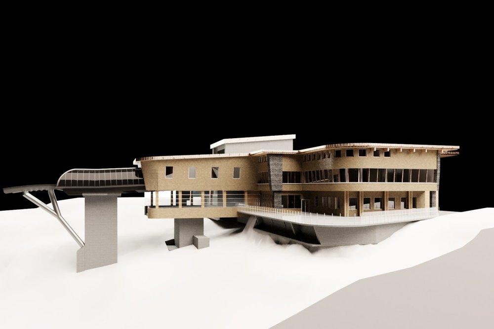 Die neue Bergstation der Nebelhornbahn - © OBERSTDORF KLEINWALSERTAL BERGBAHNEN