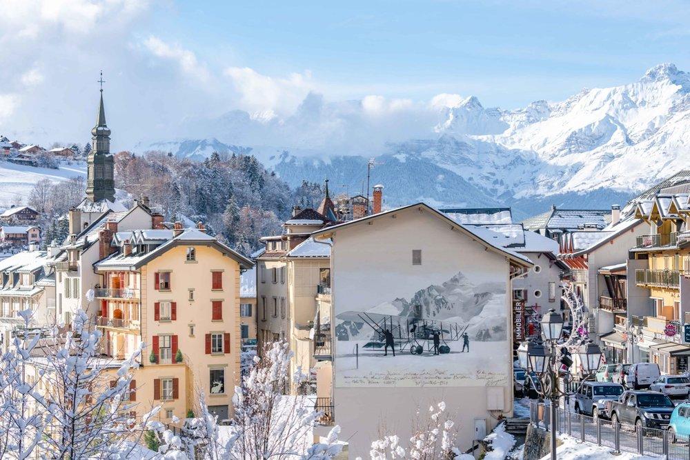 Le village ©OT Saint - Gervais - © Boris Molinier