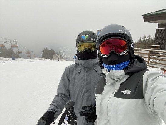 Okemo Mountain Resort - Decent conditions today. Just glad to be out on the slopes all things considered.  - © Anonymous