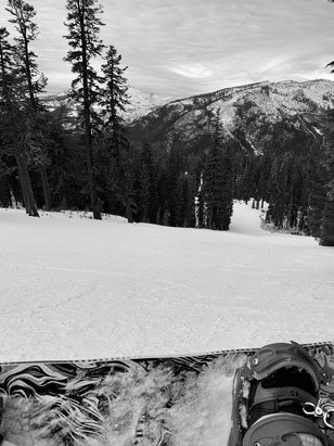 Sierra-at-Tahoe - 12th of January perfect and fast no one there  - © Anonymous