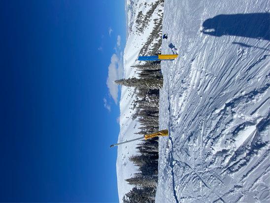 Sun Valley - 5 feet of powder - now all sun!! - © JAB
