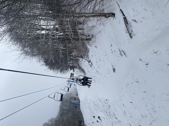 Cataloochee Ski Area - Great day at Cat.  CAT trackers was great for the kid, even got to go on the lift by the end of the day.  Lines were longer, wait wasn't bad though ~8mins for all lifts usually.   - © ---