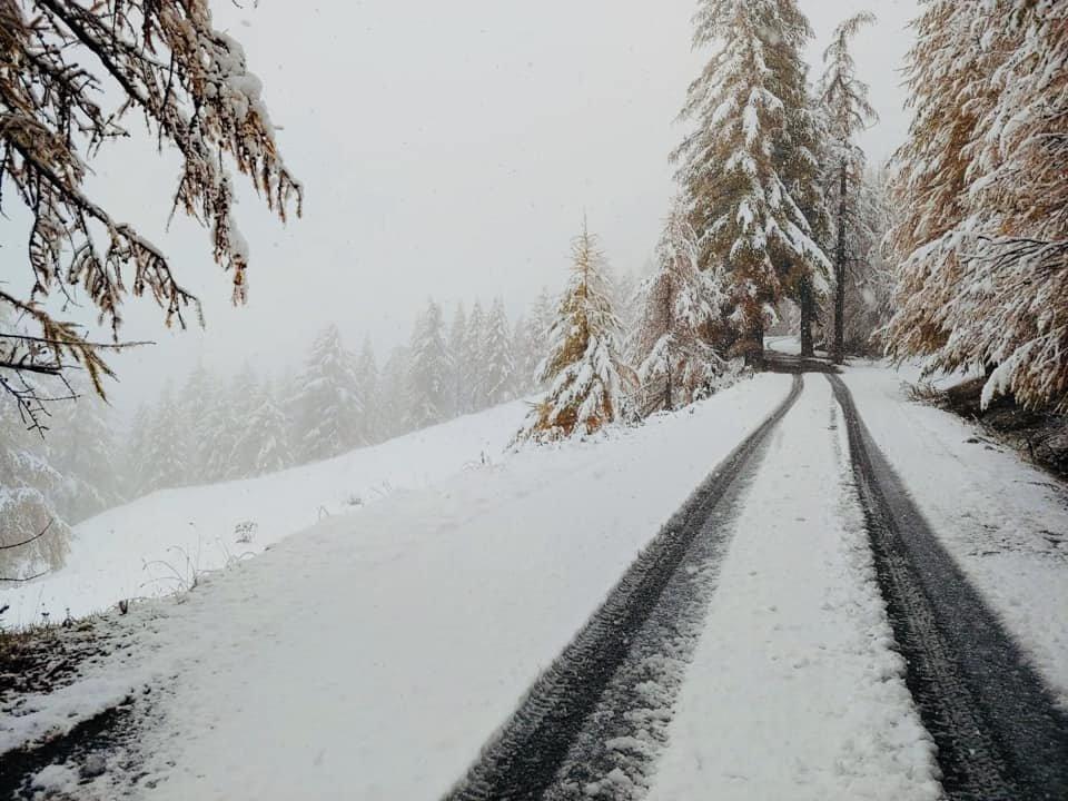 La prima neve a Bardonecchia 03.11.19 - © Bardonecchia Ski Facebook
