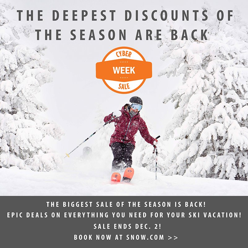 Deep discounts on Vail Resorts lodging plus last chance to purchase season passes - © Vail Resorts