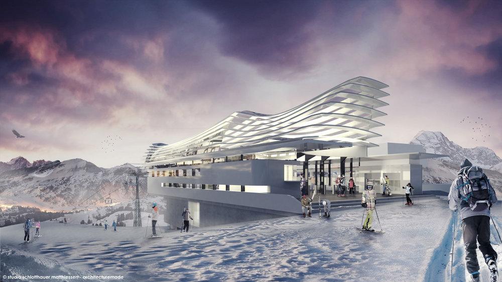 Die neue Bergstation Olang am Kronplatz - © studio schlotthauser matthiessen - architecturemade