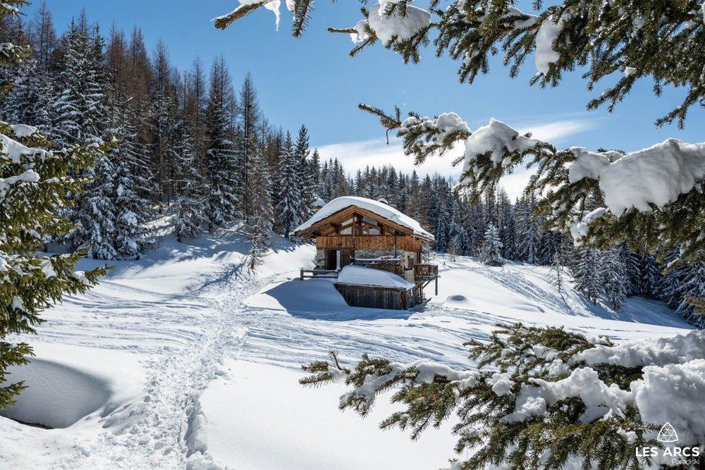 Wunderschönes Winterwetter Ende der letzten Woche in Les Arcs (FRA) - © Les Arcs/Facebook