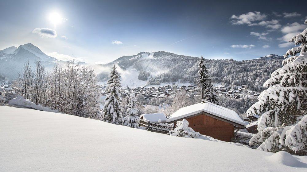Wunderschöne Winterlandschaft Anfang November in Morzine (FRA) - © Morzine/Facebook
