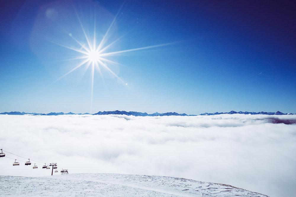Nad oblakmi vo Flims Laax - © Skiinfo | Sebastian Lindemeyer