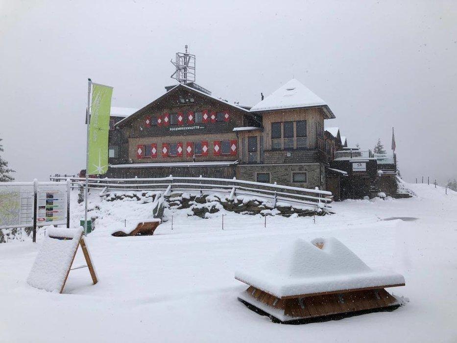 Erster Schnee am Hochwurzen - © Facebook Schladming-Dachstein