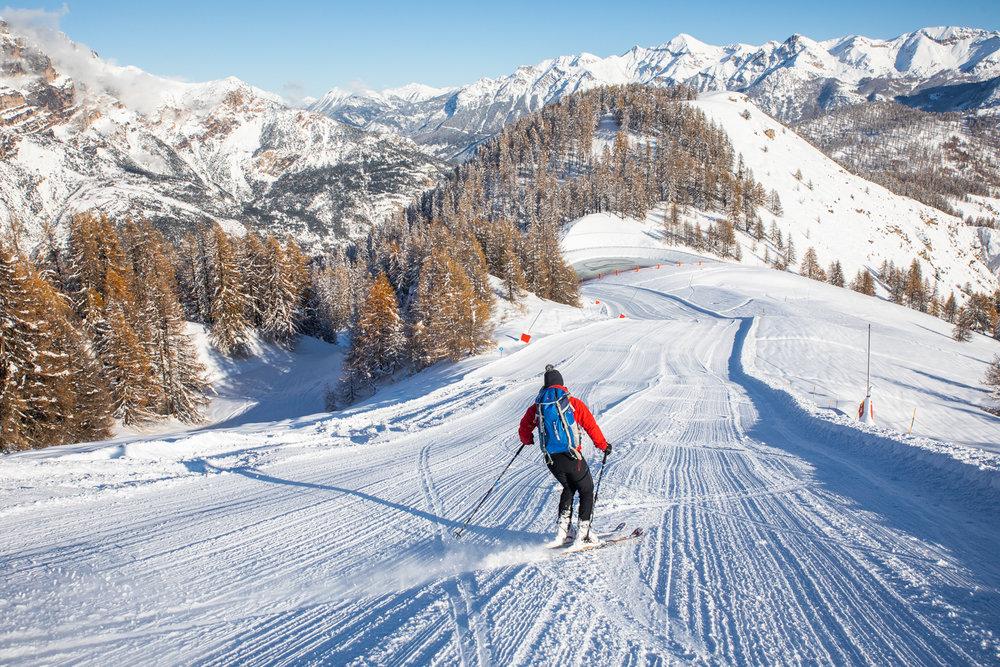 Impossible de patienter plus longtemps, le ski c'est dès ce week-end à Puy Saint Vincent (Hautes-Alpes) - © Thibaut Blais