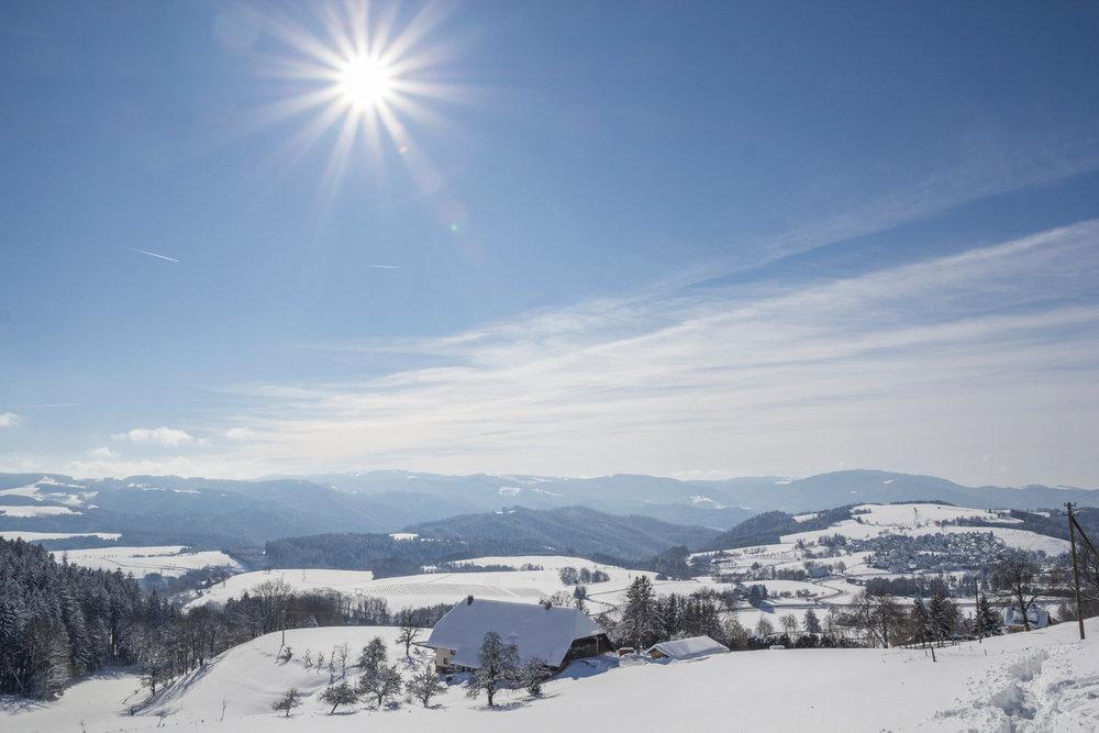 Verschneite Landschaft bei St. Peter - © Hochschwarzwald Tourismus GmbH