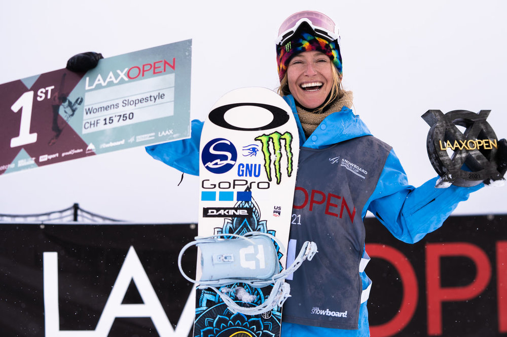 Tahoe's Jamie Anderson took home gold in women's slopestyle.  - © Marcus Skin