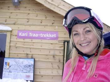 Kari Traa i Myrkdalen