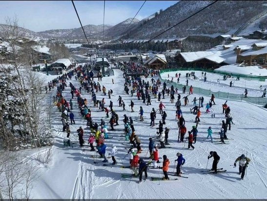 Deer Valley Resort - Industry wide, more season passes SOLD than ever before in the history of skiing. - © Anonymous