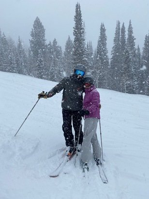 Solitude Mountain Resort - Best day ever! Powder as far as the eye could see! Happy birthday Kathy and Halle! - © Blocks and Cullens