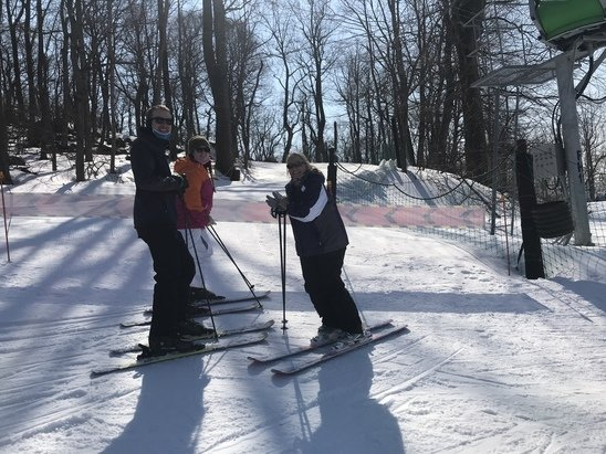 Roundtop Mountain Resort - Awesome packed powder! Celebrated my sons bday March 8th was AMAZING! Scanners played a bday song everytime! FUN DAY! - © Michele