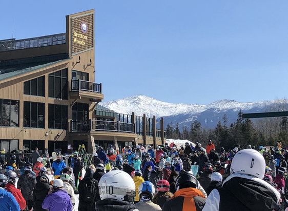 Bretton Woods - Remarkable spring skiing conditions & fabulous grooming - five stars!   - © Sarah O.
