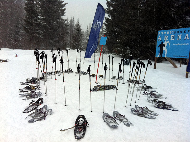 Schneeschuhtour 2012 Oberjoch - © K2