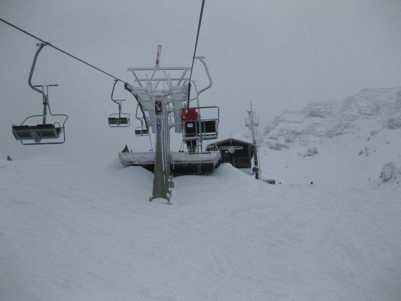 Skiresort Axamer Lizum Schnee - ©Markus Hahn