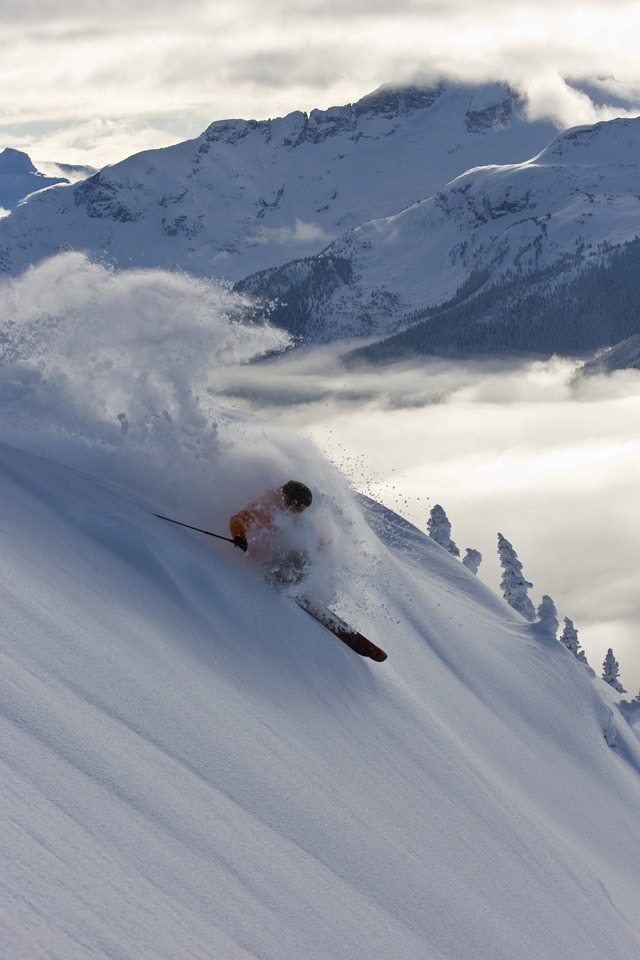 Powder day at Whistler Blackcomb