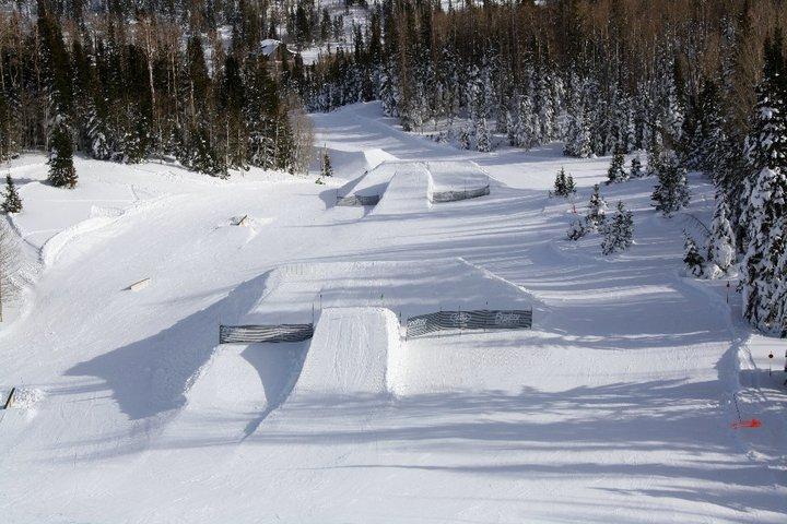 Brian Head snowpark