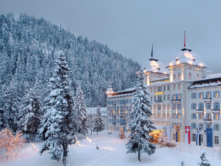 Kempinski Grand Hotel des Bains in St. Moritz - ©Kempinski Grand Hotel
