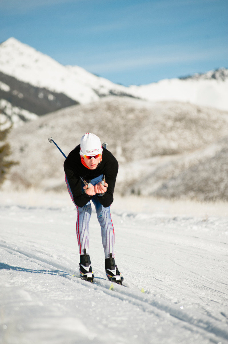 Cross country skiing in Sun Valley  - © Tal Roberts