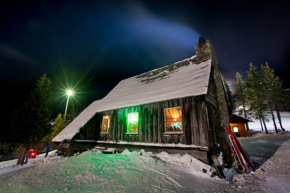 The warming hut sits at the top of Mt. Hood Skibowl.  - ©Mt Hood Territory/Flickr