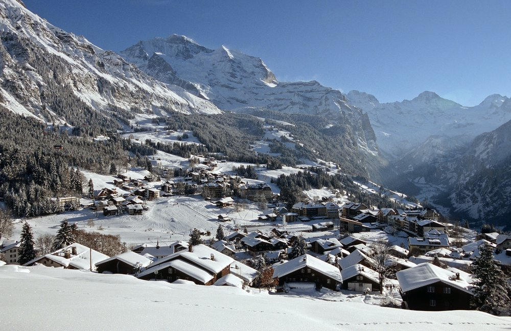 Wengen winter
