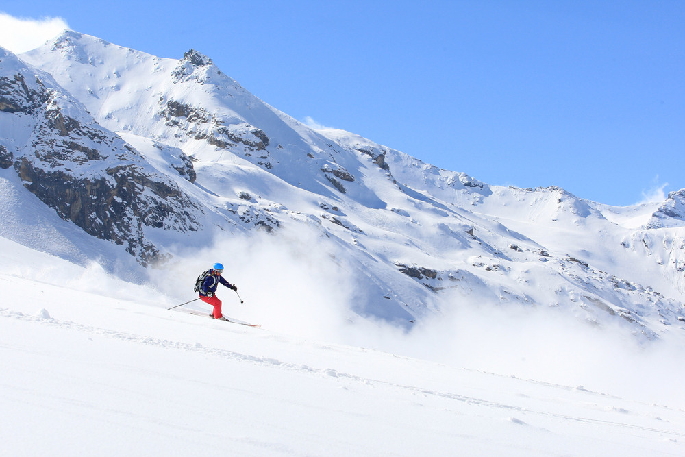 Ski Test in Val d`Isere