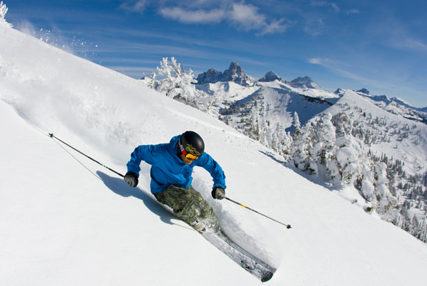 Grand Targhee yields big Teton Mountain views.  - ©Grand Targhee