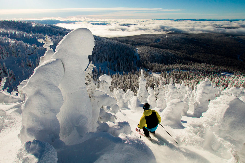 Fresh powder at Big White - © Big White Ski Resort