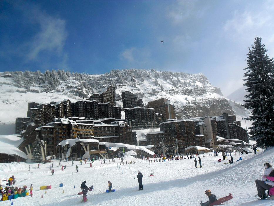 Avoriaz is a ski-in/ski-out resort